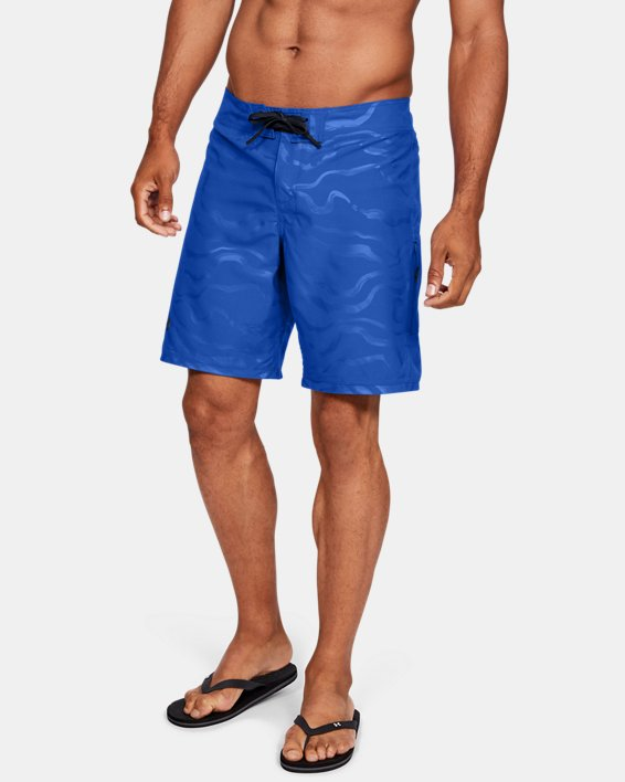 Men's UA Shore Break Boardshorts, Blue, pdpMainDesktop image number 0