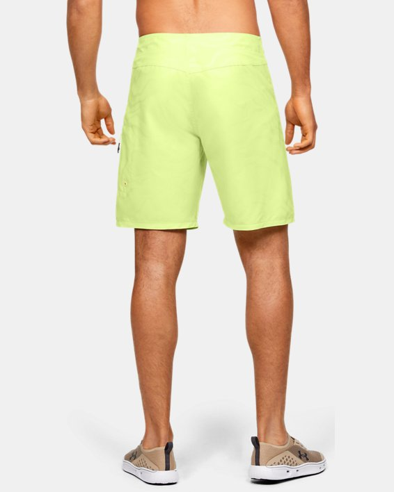 Men's UA Shore Break Boardshorts, Yellow, pdpMainDesktop image number 2