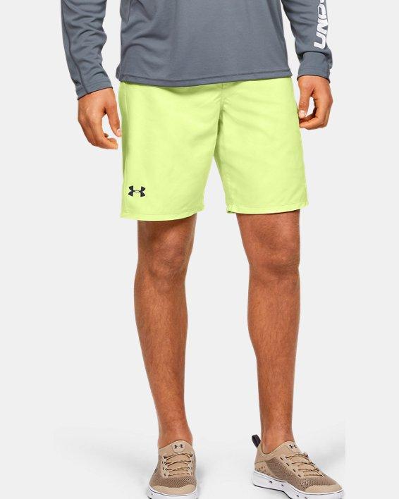 Men's UA Shore Break Boardshorts, Yellow, pdpMainDesktop image number 0