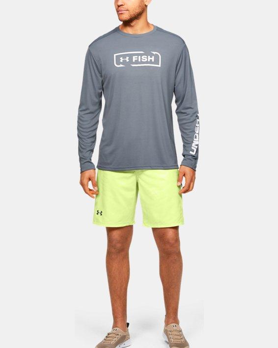 Men's UA Shore Break Boardshorts, Yellow, pdpMainDesktop image number 1