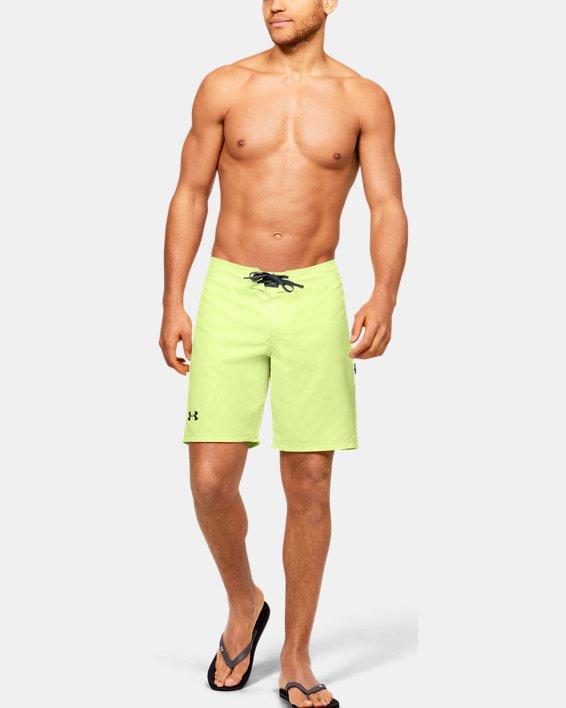 Men's UA Shore Break Boardshorts, Yellow, pdpMainDesktop image number 5