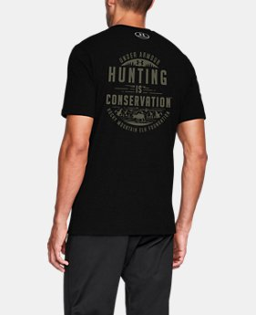 Men's UA Hunting Is Conservation T-Shirt  1 Color $24.99