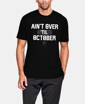 Men's UA Ain't Over 'Til October T-Shirt  1 Color $24.99