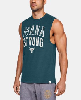 Men's UA x Project Rock Mana Strong Tank  2  Colors Available $45