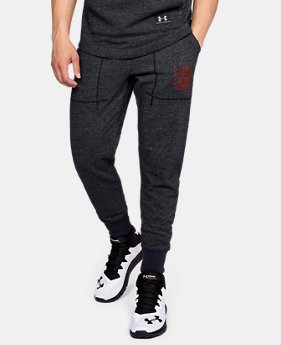 New Arrival Men's UA x Project Rock 96 World Champion Joggers FREE U.S. SHIPPING 2  Colors Available $65