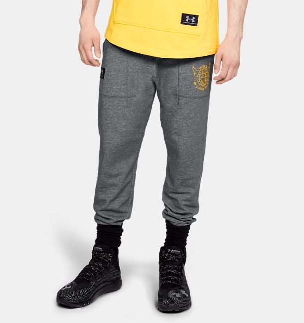 31a3a99c69c575 Men's Project Rock 96 World Champion Joggers | Under Armour US