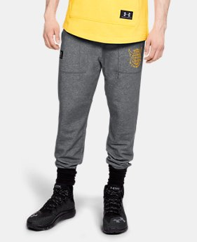 Men's UA x Project Rock 96 World Champion Joggers  2  Colors Available $65