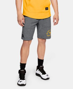 Men's UA x Project Rock Respect Shorts  1  Color Available $70