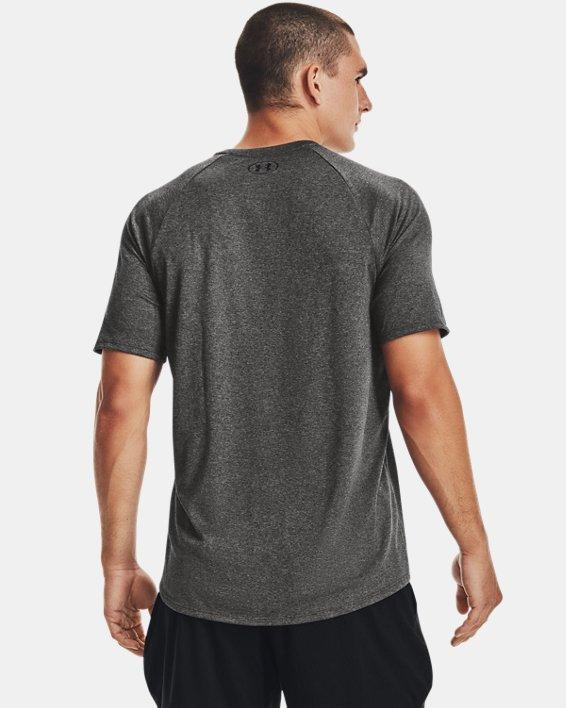 Men's UA Tech™ 2.0 Short Sleeve, Gray, pdpMainDesktop image number 2