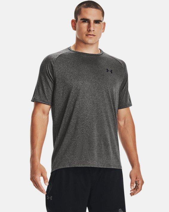 Men's UA Tech™ 2.0 Short Sleeve, Gray, pdpMainDesktop image number 0