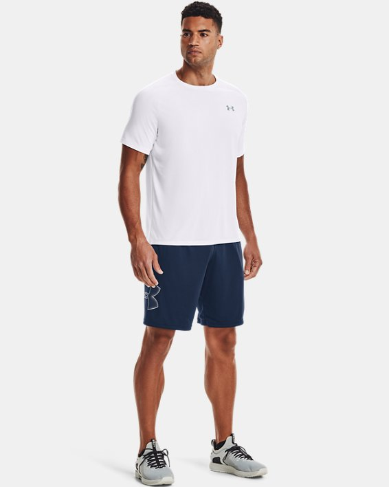 Men's UA Tech™ 2.0 Short Sleeve, White, pdpMainDesktop image number 1