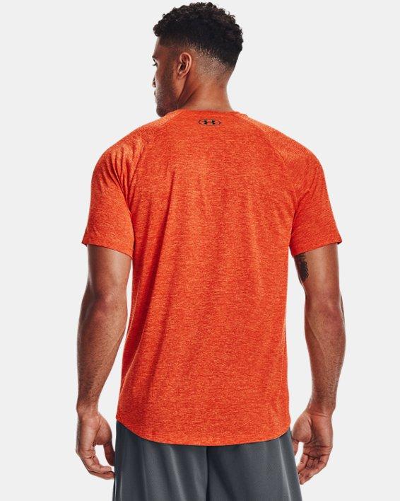 Haut à manches courtes UATech™2.0 pour homme, Orange, pdpMainDesktop image number 1