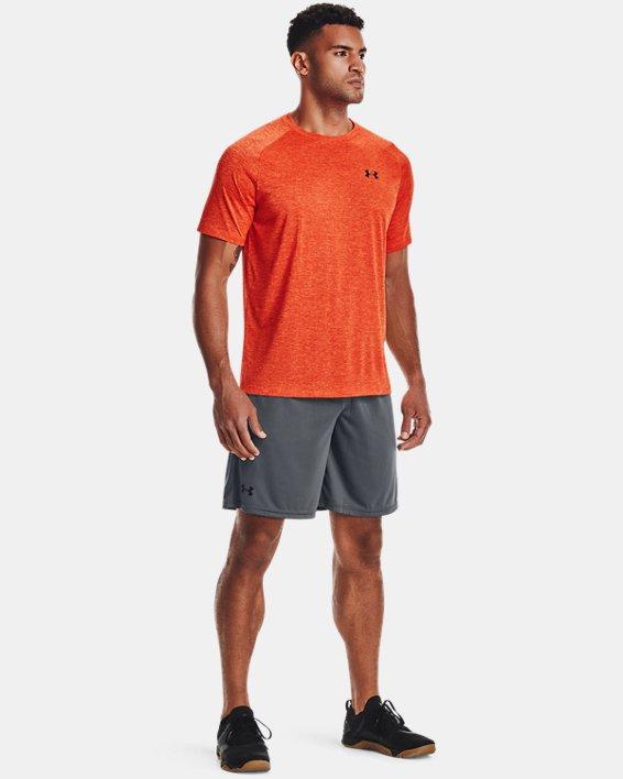 Haut à manches courtes UATech™2.0 pour homme, Orange, pdpMainDesktop image number 2