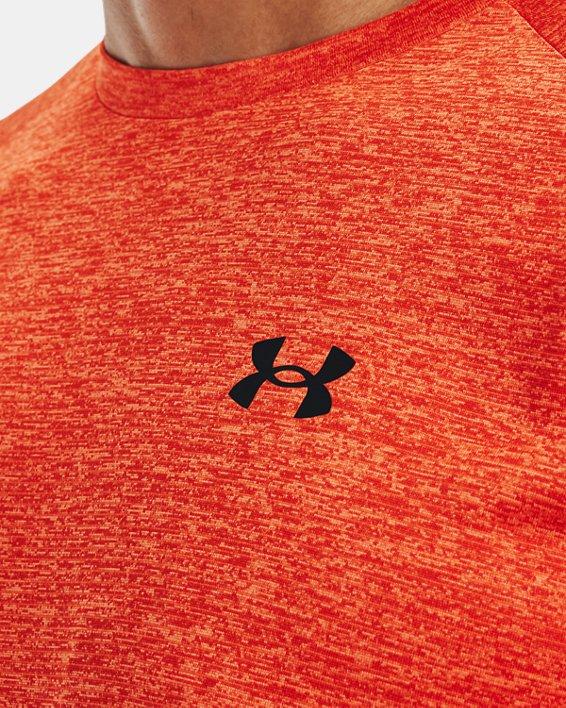 Haut à manches courtes UATech™2.0 pour homme, Orange, pdpMainDesktop image number 3