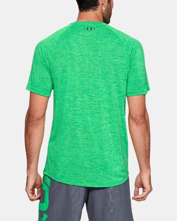 Men's UA Tech™ 2.0 Short Sleeve, Green, pdpMainDesktop image number 2