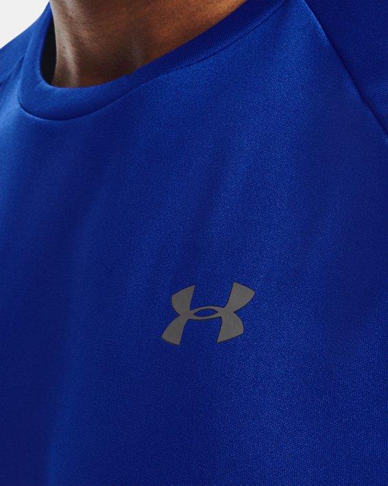 Men's UA Tech™ 2.0 Short Sleeve, Blue, pdpMainDesktop image number 3