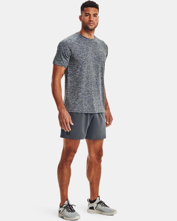 Men's UA Tech™ 2.0 Short Sleeve, Navy, pdpMainDesktop image number 1