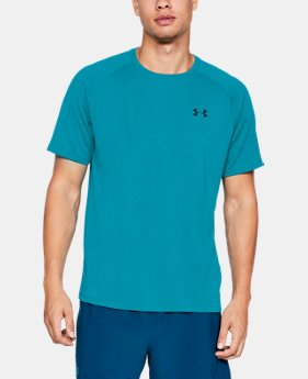 Best Seller Men's UA Tech™ Short Sleeve  3  Colors Available $15 to $19.99