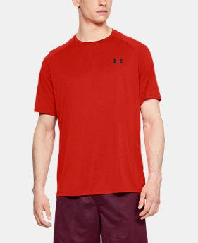 0cdbbf0db4 Men's Red Outlet Short Sleeve Shirts | Under Armour US