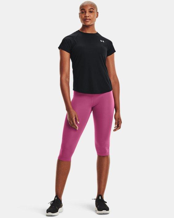 Women's UA Speed Stride Short Sleeve, Black, pdpMainDesktop image number 1