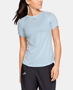 41350309062e4c New to Outlet Women's UA Qualifier HexDelta Short Sleeve 1 Color Available  $26.99 to $30.99