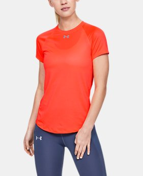 21095618479d7 Women's UA Qualifier HexDelta Short Sleeve 2 Colors Available $40