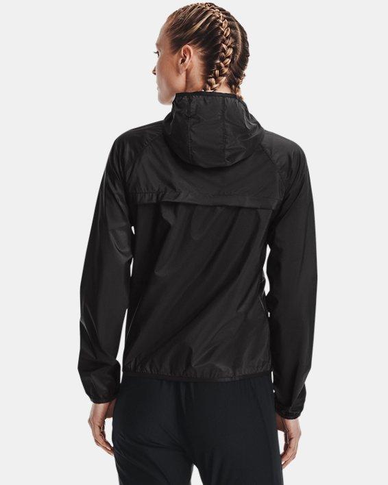 Women's UA Qualifier Storm Packable Jacket, Gray, pdpMainDesktop image number 2