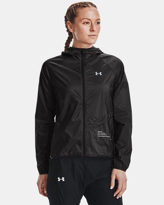Women's UA Qualifier Storm Packable Jacket, Gray, pdpMainDesktop image number 1
