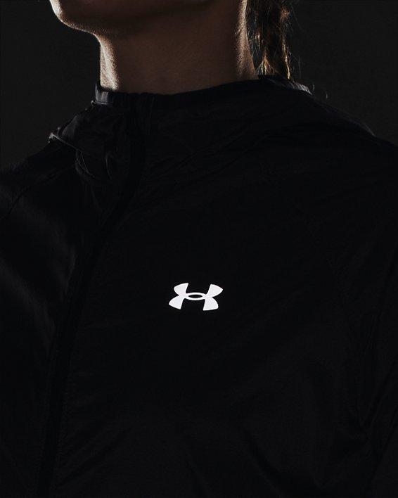 Women's UA Qualifier Storm Packable Jacket, Gray, pdpMainDesktop image number 6