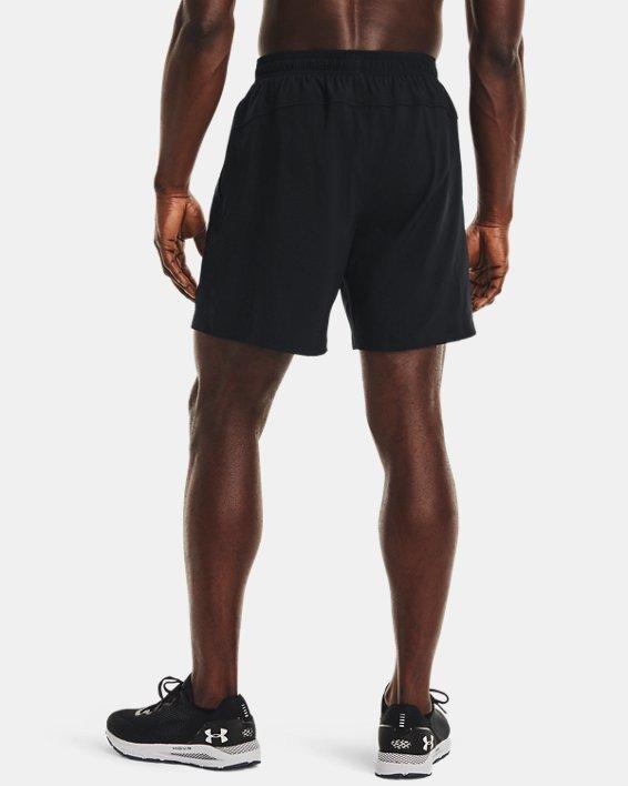 Men's UA Speed Stride Solid 7'' Shorts, Black, pdpMainDesktop image number 2