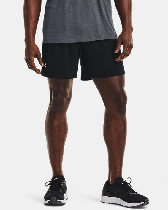 Men's UA Speed Stride Solid 7'' Shorts, Black, pdpMainDesktop image number 1