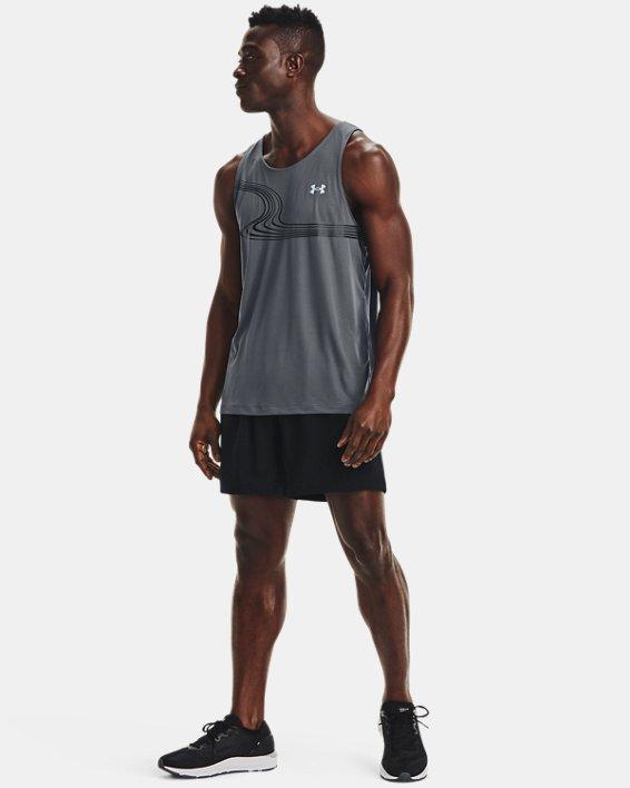 Men's UA Speed Stride Solid 7'' Shorts, Black, pdpMainDesktop image number 3
