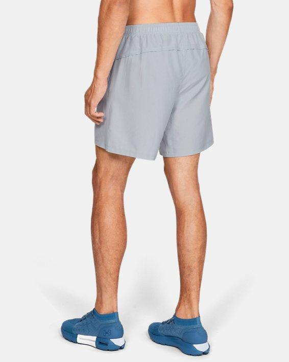 Men's UA Speed Stride Solid 7'' Shorts, Gray, pdpMainDesktop image number 2