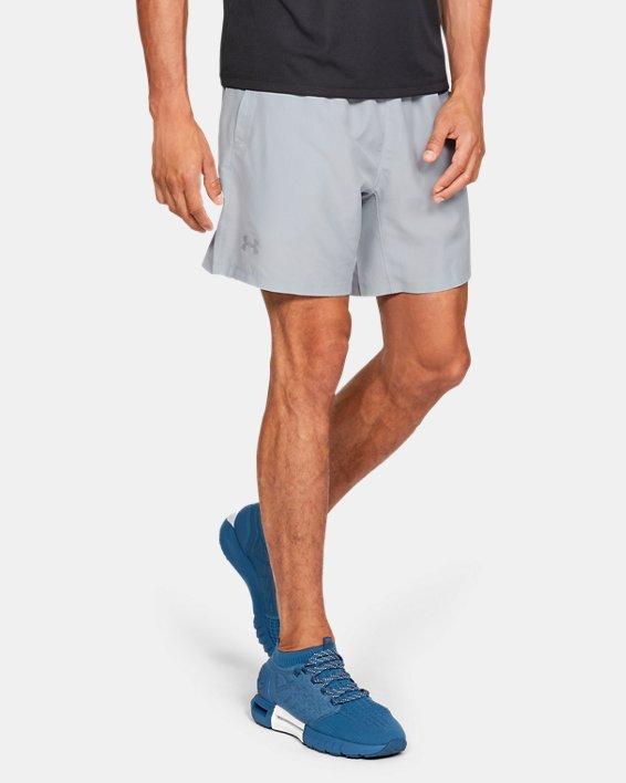 Men's UA Speed Stride Solid 7'' Shorts, Gray, pdpMainDesktop image number 0