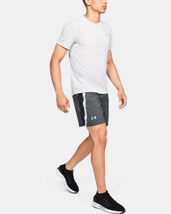 Men's UA Launch SW 5'' Shorts, Gray, pdpMainDesktop image number 1