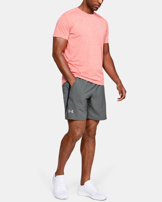 Men's UA Launch SW 7'' Shorts, Gray, pdpMainDesktop image number 1