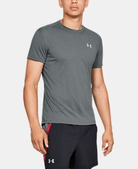 75c75ab30 New Arrival Men's UA Streaker Short Sleeve 4 Colors Available $35