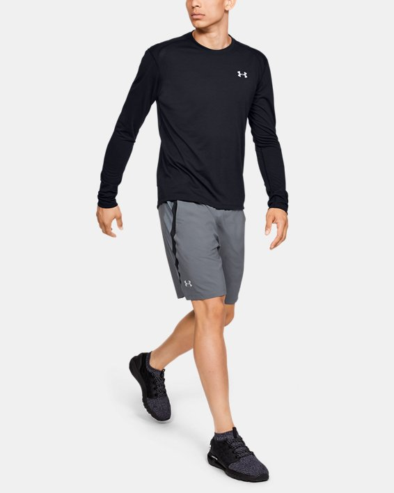 Men's UA Streaker Long Sleeve, Black, pdpMainDesktop image number 1