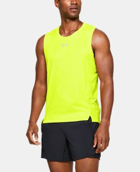 3ff92812506ee New to Outlet Men s UA Qualifier HexDelta Singlet 1 Color Available  30.99