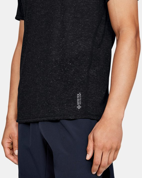 Men's UA Breeze Short Sleeve, Black, pdpMainDesktop image number 5