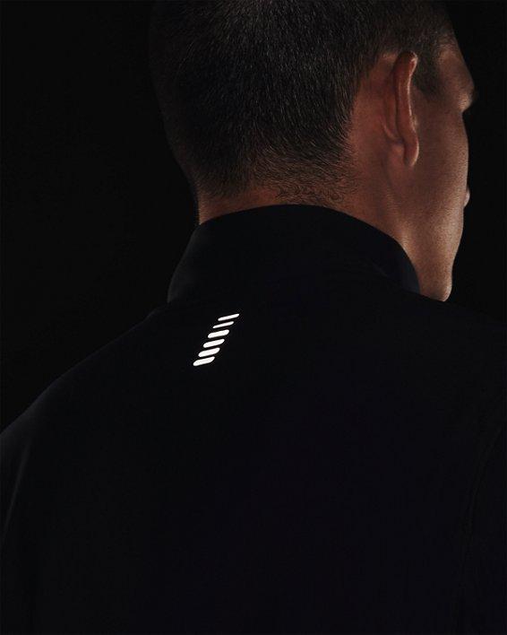 Men's UA Qualifier ½ Zip, Black, pdpMainDesktop image number 7