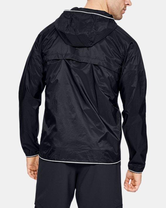 Men's UA Qualifier Storm Packable Jacket, Black, pdpMainDesktop image number 2