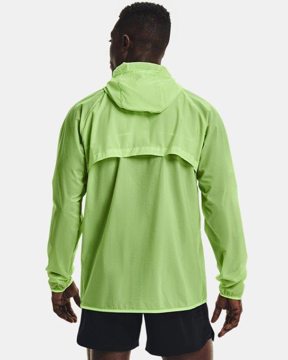 Men's UA Qualifier Storm Packable Jacket, Green, pdpMainDesktop image number 2