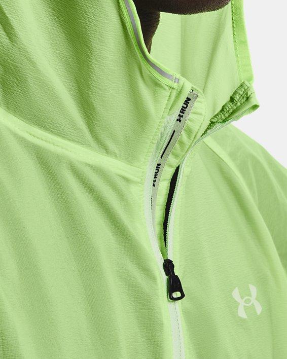 Men's UA Qualifier Storm Packable Jacket, Green, pdpMainDesktop image number 6