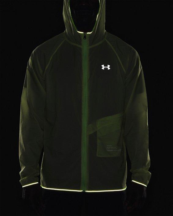 Men's UA Qualifier Storm Packable Jacket, Green, pdpMainDesktop image number 8