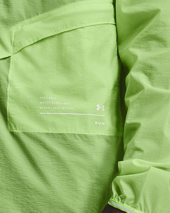 Men's UA Qualifier Storm Packable Jacket, Green, pdpMainDesktop image number 3