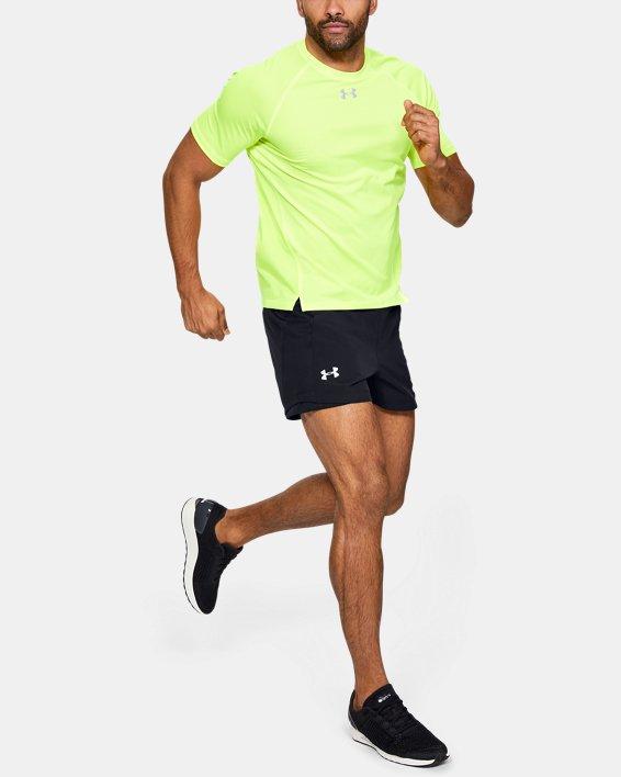 Men's UA Qualifier Speedpocket 5'' Shorts, Black, pdpMainDesktop image number 1
