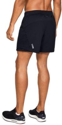 "Under Armour Men SpeedPocket 7"" Lined Running Shorts 1351189 Gray 014 Size XL"