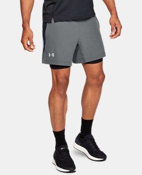 d803953d4d3e23 New to Outlet Men's UA Qualifier Speedpocket 2-in-1 Shorts 2 Colors  Available