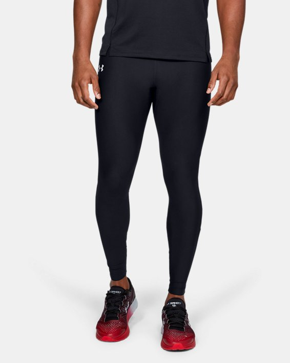 Men's UA Qualifier Tights, Black, pdpMainDesktop image number 0